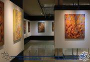 گزارش تصویری نمایشگاه آثار نقاشی محمود حشمتی نژاد