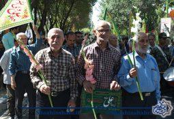 گزارش تصویری از حرکت کاروان شادی در شاهین شهر