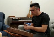 محمد امین مومنی مدرس سنتور فرهنگسرای اشراق
