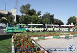 قطار شادی در هفته فرهنگی شاهین شهر