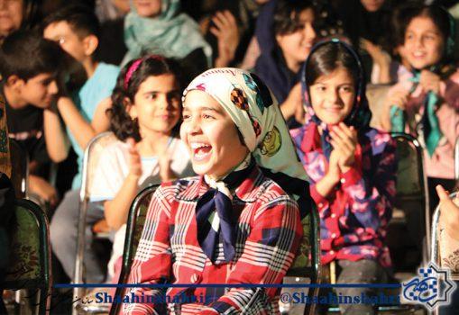 لبخند شاهین شهریها در جشن میلاد ثامن الحجج (ع)