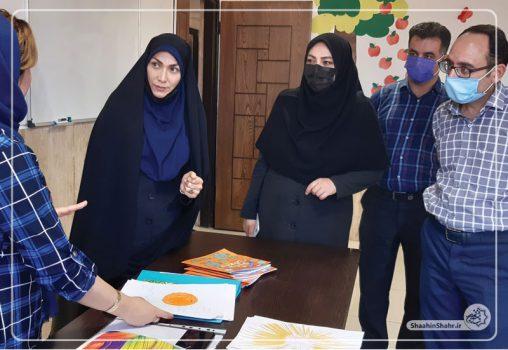 بازدید بانوان عضو شورای اسلامی شاهین شهر از فرهنگسرای دانش و خلاقیت