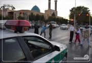 نمایش خیابانی اقتدار نیروی انتظامی