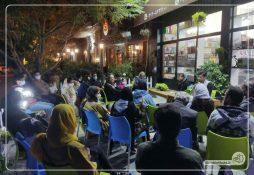 برگزاری نشست کتابخوانی با حضور دوست داران کتاب