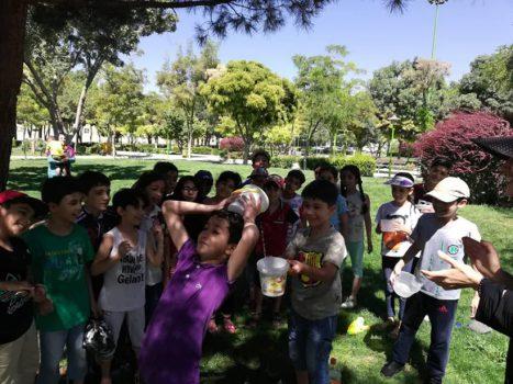 برگزاری فستیوال حبابهای هندسی