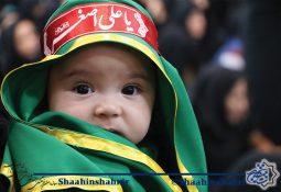 گزارش تصویری همایش شیرخوارگان حسینی شاهین شهر  محرم ۹۸