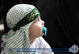 شور مادران و کودکان شاهین شهری در همایش شیرخوارگان حسینی