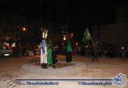 تعزیه خوانی در شاهین شهر به مناسبت اربعین حسینی