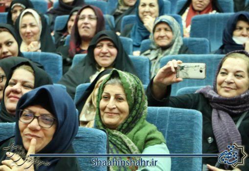 شادی بانوان شاهین شهری در جشن میلاد حضرت زهرا (س)