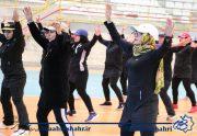 برگزاری مسابقات آمادگی جسمانی بانوان