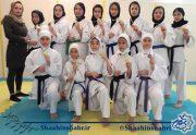 کسب مدالهای رنگارنگ در مسابقات بین المللی کاراته برای بانوان شاهین شهری