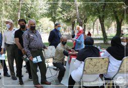 گزارش تصویری از ویژه برنامه پایگاه سلامت شاهین شهر
