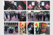 برگزاری مراسم های سوگواری و عزاداری حضرت سید الشهداء توسط کارکنان شهرداری شاهین شهر