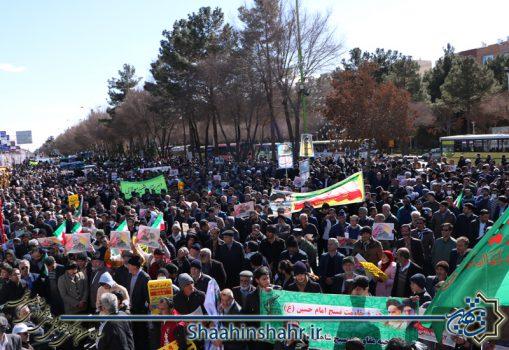 گزارش تصویری راهپیمایی ۲۲ بهمن ۹۸