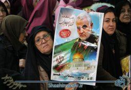 گزارش تصویری مراسم بزرگداشت سردار دلها در شاهین شهر