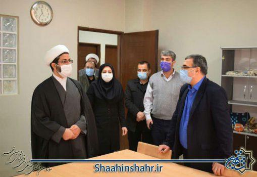 بازدید امام جمعه شاهین شهر از مراکز فرهنگی و ورزشی سازمان
