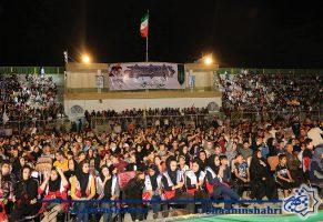 استقبال چشمگیر شهروندان از اجرای گروه سربازان وطن
