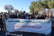 همایش پیاده روی خانوادگی و جاده سلامت در کوی مهدیه