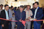 افتتاح نمایشگاه هنرهای تجسمی