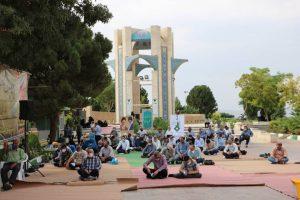 گزارش تصویری برگزاری دعای عرفه در شاهین شهر