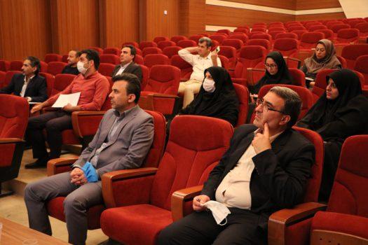 برگزاری جلسه شورای مدیران سازمان با رویکرد آموزش ضمن خدمت