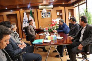 دیدار رئیس و کارکنان سازمان با شهردار شاهین شهر