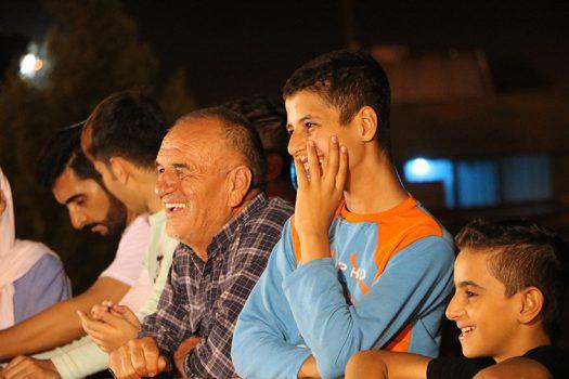 لحظات شاد شهروندان با حضور در ویژه برنامه لبخند شاهین شهری ها