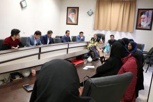 برگزاری جلسه هماهنگی و برنامه ریزی ايام الله دهه فجر