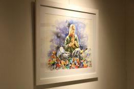 نمایشگاه هنرهای تجسمی پدیده درخشان در قاب تصویر