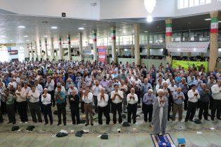 برپایی نماز عید قربان در مصلی شاهین شهر