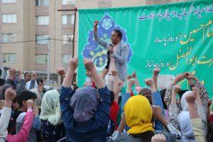 جشن اعیاد شعبانیه در محله مهر شاهین شهر