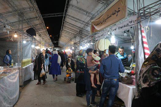 برگزاری نمایشگاه سوغات و صنایع دستی