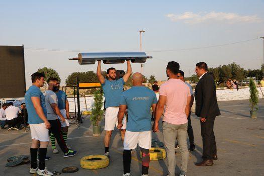 رقابت قویترین مردان در شاهین شهر