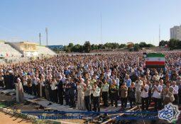 نماز عید فطر در شاهین شهر