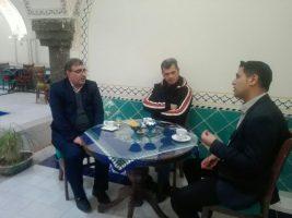 بازدید رئیس سازمان از حمام تاریخی گرگاب