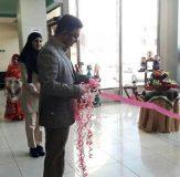 افتتاح نمایشگاه آثار هنری و تزئینی بافتنی در فرهنگسرای خانواده