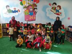 بازدید هنرجویان کودک فرهنگسرای اشراق از کتابخانه نگارستان