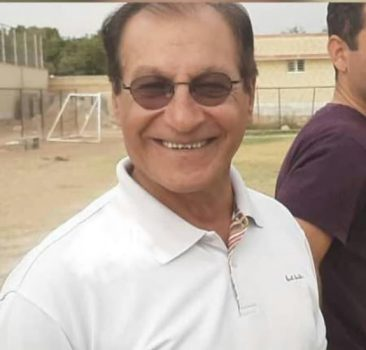 رسول ظفریان فوتبالیست و مربی پیشکسوت شاهین شهری