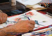 کارگاه هفتگی نقاشی در فرهنگسرای هنر