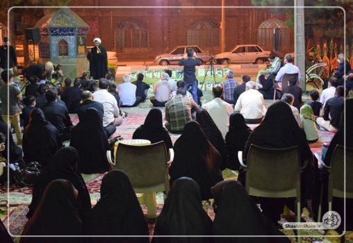 برگزاری ویژه برنامه یاد یاران در گلزار شهدای حاجی آباد